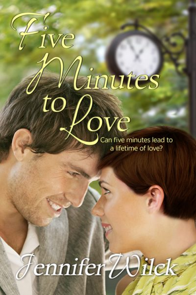 "Author Spotlight- Jennifer Wilck and review of her new release, ""Five Minutes to Love"""